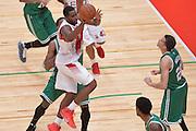 DESCRIZIONE : Milano NBA Global Games EA7 Olimpia Milano - Boston Celtics<br /> GIOCATORE : Jamal McLean<br /> CATEGORIA : Passaggio<br /> SQUADRA :  Olimpia EA7 Emporio Armani Milano<br /> EVENTO : NBA Global Games 2016 <br /> GARA : NBA Global Games EA7 Olimpia Milano - Boston Celtics<br /> DATA : 06/10/2015 <br /> SPORT : Pallacanestro <br /> AUTORE : Agenzia Ciamillo-Castoria/IvanMancini<br /> Galleria : NBA Global Games 2016 Fotonotizia : NBA Global Games EA7 Olimpia Milano - Boston Celtics