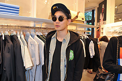 TOMO KURATA at a party to celebratethe opening of the Lacoste Flagship Store at 44 Brompton Road, Knightsbridge, London on 20th June 2012.