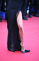 Izabel Goulart reveals a leg at The Immigrant film gala screening at the Cannes Film Festival Friday 24th May May 2013