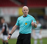 Referee Craig Charleston - Dundee v Buckie Thistle, Betfred Cup at Dens Park, Dundee, Photo: David Young<br /> <br />  - &copy; David Young - www.davidyoungphoto.co.uk - email: davidyoungphoto@gmail.com