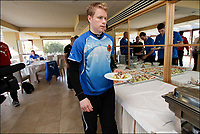 Fotball<br /> Foto: PhotoNews/Digitalsport<br /> NORWAY ONLY<br /> <br /> MARBELLA, SPAIN - JANUARY 5:  Tom Høgli of Club Brugge pictured during lunch at the Hotel Guadalmina where the football team Club Brugge is staying during the midseason training camp on January 5, 2012 in Malaga.