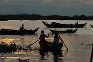 Chong Kneas floating village, Cambodia