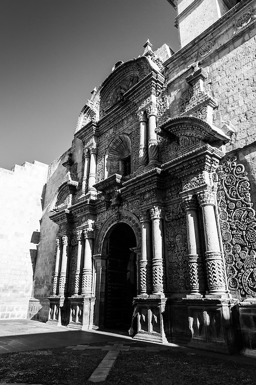 Where: Church in Arequipa, Peru.<br />