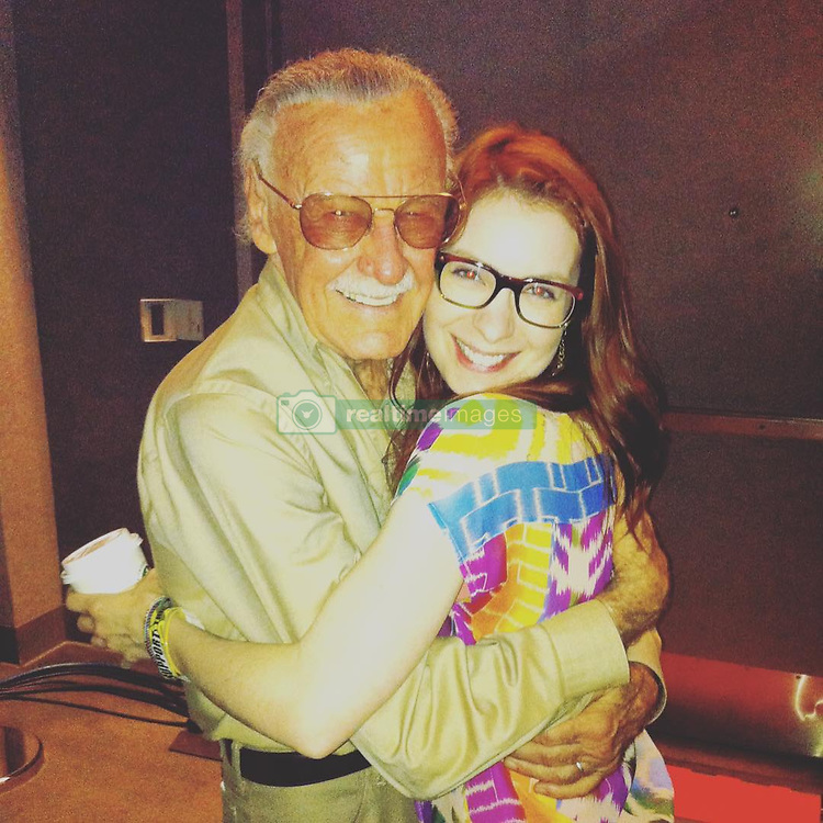 "Felicia Day releases a photo on Instagram with the following caption: ""My friend Jamie Paglia shared this amazing pic of me and Stan Lee together. He was a gentleman and so brilliant and generous with his encouragement. We should all be so lucky to have such a long life and be able to impart our wisdom to others until the end. If you have someone elderly in your life reach out and try to learn from them. It will improve both of your lives. \u003c3"". Photo Credit: Instagram *** No USA Distribution *** For Editorial Use Only *** Not to be Published in Books or Photo Books ***  Please note: Fees charged by the agency are for the agency's services only, and do not, nor are they intended to, convey to the user any ownership of Copyright or License in the material. The agency does not claim any ownership including but not limited to Copyright or License in the attached material. By publishing this material you expressly agree to indemnify and to hold the agency and its directors, shareholders and employees harmless from any loss, claims, damages, demands, expenses (including legal fees), or any causes of action or allegation against the agency arising out of or connected in any way with publication of the material."
