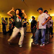 During a workshop with Juana, professional dancer from New York