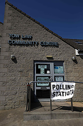 May 4, 2017 - Tow Law, Durham, United Kingdom - Image ©Licensed to i-Images Picture Agency. 04/05/2017. Tow Law, United Kingdom. local council elections - polling station. Picture by Chris Booth / i-Images (Credit Image: © Chris Booth/i-Images via ZUMA Press)