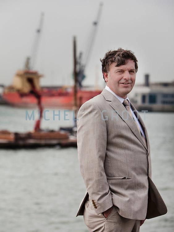 Cor van Miltenburg, Directeur Imtech in Rotterdam