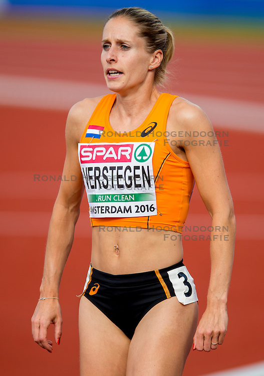 06-07-2016 NED: European Athletics Championships, Amsterdam<br /> Sanne Verstegen NED