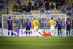 Penalty for Bravo during football match between NK Maribor and NK Bravo in 25th Round of Prva liga Telekom Slovenije 2019/20, on March 7, 2020 in Ljudski vrt, Maribor, Slovenia. Photo by Blaž Weindorfer / Sportida