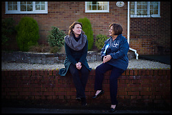 Newsnight's political editor, Allegra Stratton interviews Conservative Candidate for the Eastleigh by-election Maria Hutchings, Thursday February 14, 2013. Photo by Andrew Parsons / i-Images