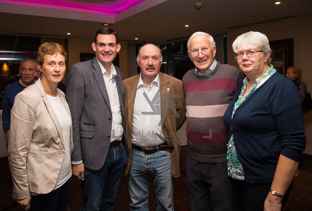 11.10.2016         <br /> Pictured at the Grand Final of the Limerick Going for Gold 2016 Awards were, Mary O'Brien, Neill Cregan, Tom Holmes, Dan Dineen and Kathleen Kielly, Muroe Tidy Towns. Picture: Alan Place