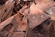 Petroglyphs, Olawalu, Maui, Hawaii<br />