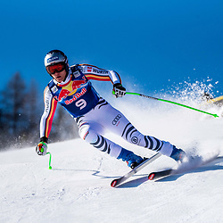Thomas Dressen of Germany at the Ski Alpin: 80. Hahnenkamm Race 2020 - Audi FIS Alpine Ski World Cup - Men's Downhill Training at the Streif on January 22, 2020 in Kitzbuehel, AUSTRIA. (Photo by Horst Ettensberger/ESPA/CSM/Sipa USA) - Kitzbuhel (Autriche)