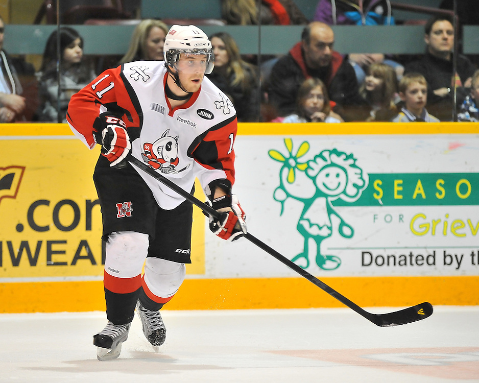 2011-12 Niagara IceDogs.<br />