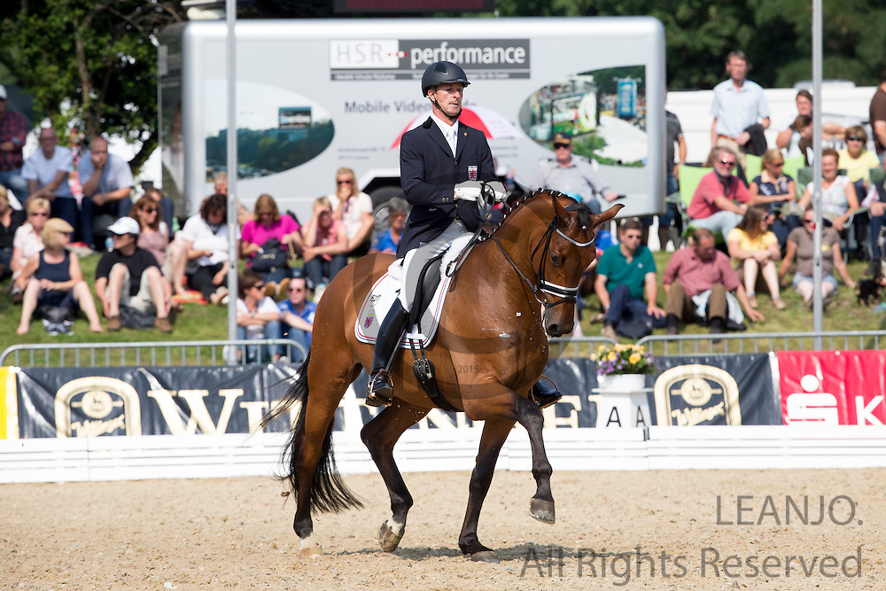 Sascha Schulz - Frimeur 2<br /> FEI World Breeding Dressage Championships for Young Horses 2012<br /> © DigiShots