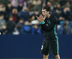January 18, 2018 - Leganes, Spain - Mateo Kovacic of Real Madri reacts during the Spanish Copa del Rey, Quarter Final, First Leg match between Leganes and Real Madrid at Estadio Municipal de Butarque on January 18, 2018 in Leganes, Spain  (Credit Image: © Raddad Jebarah/NurPhoto via ZUMA Press)