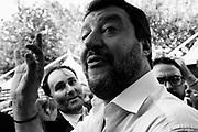 Lega political party leader Matteo Salvini takes part at Atreju 2019 on September 20, 2019 in Rome, Italy. Christian Mantuano / OneShot