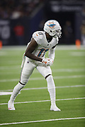 Miami Dolphins wide receiver DeVante Parker (11) in action during the NFL week 8 regular season football game against the Houston Texans on Thursday, Oct. 25, 2018 in Houston. The Texans won the game 42-23. (©Paul Anthony Spinelli)