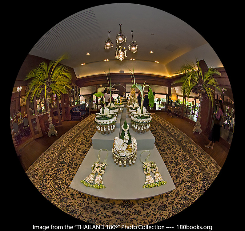 Tradition Thai Wedding Ceremonial Accoutrements