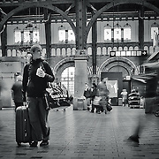 Copenhagen Central Station is located in the heart of the city, bordering to the rough but also trendy Vesterbro. It is a gateway to all public transportation in and out and around Copenhagen.
