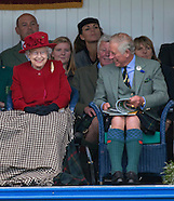 Royal Laughter At Braemar Highland Games 2