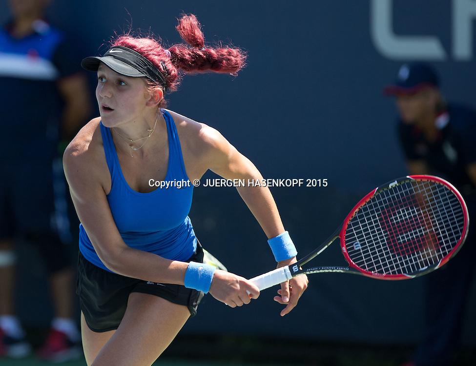 Rebeka Masarova (SUI) Junior GS<br /> <br /> Tennis - US Open 2015 - Grand Slam ITF / ATP / WTA -  Flushing Meadows - New York - New York - USA  - 6 September 2015.
