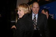 Michael Eisner and  Willow Bay, Mary Poppins Gala charity night  in aid of Over the Wall. Prince Edward Theatre. 14 December 2004. ONE TIME USE ONLY - DO NOT ARCHIVE  © Copyright Photograph by Dafydd Jones 66 Stockwell Park Rd. London SW9 0DA Tel 020 7733 0108 www.dafjones.com