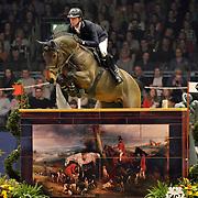 18.12.2017 London Olympia International Horse Show <br /> The OLYMPIA GRAND PRIX Ben Mather GBR riding Winning Good