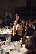 IWONA BLAZWICK, Whitechapel Gallery Art Icon 2015 Gala dinner supported by the Swarovski Foundation. The Banking Hall, Cornhill, London. 19 March 2015