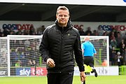 Forest Green Rovers manager Mark Cooper during the EFL Sky Bet League 2 match between Forest Green Rovers and Crawley Town at the New Lawn, Forest Green, United Kingdom on 5 October 2019.