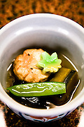 Soup at Nara sushi restaurant.