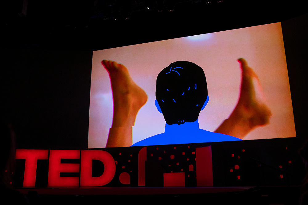Absence video at TED2019: Bigger Than Us. April 15 - 19, 2019, Vancouver, BC, Canada. Photo: Bret Hartman / TED