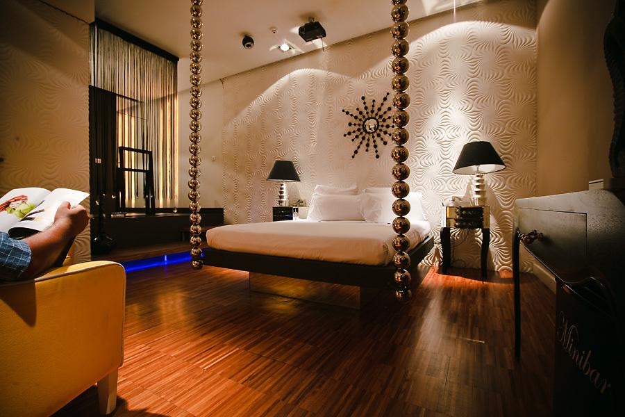 El estilo está presente en todas partes: en el Hotel Abalú, cada ambiente tiene un diseño diferente.