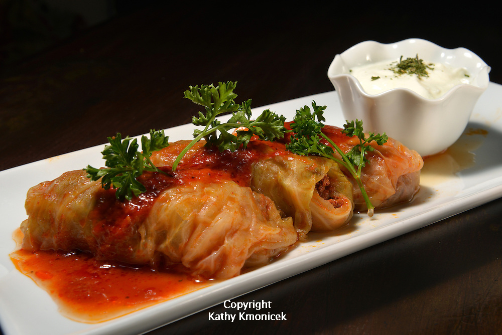 Stuffed Cabbage served at Ephesus in Massapequa Park, N.Y.