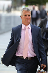 © Licensed to London News Pictures . FILE PICTURE DATED 06/09/2012 . Manchester , UK . Nick Freeman (aka Mr Loophole ) arrives at Manchester Magistrates Court on 6th September 2012 to defend Manchester United and England footballer Danny Welbeck against speeding charges . Welbeck did not attend . Photo credit : Joel Goodman/LNP