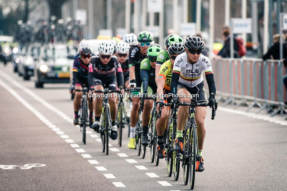 Group during the UCI Women's WorldTour Ronde van Drenthe at Drenthe, The Netherlands, 11 March 2017. Photo by Pim Nijland / PelotonPhotos.com | All photos usage must carry mandatory copyright credit (Peloton Photos | Pim Nijland)