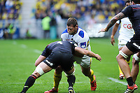 Vincent DEBATY - 18.04.2015 - Clermont / Saracens - 1/2Finale European Champions Cup<br />Photo : Jean Paul Thomas / Icon Sport