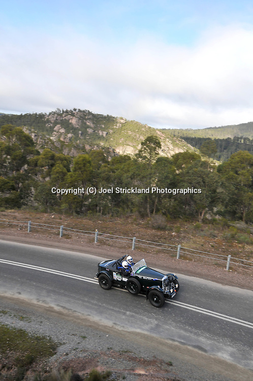 Bill Griffiths & Kerry Auty .1936 Roesch Talbot BG 110.Day 4.Targa Tasmania 2009.2nd of May 2009.(C) Joel Strickland Photographics.