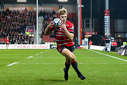 Ollie Thorley of Gloucester Rugby - Mandatory by-line: Robbie Stephenson/JMP - 16/11/2018 - RUGBY - Kingsholm - Gloucester, England - Gloucester Rugby v Leicester Tigers - Gallagher Premiership Rugby