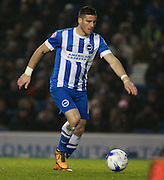 Brighton striker Tomer Hemed during the Sky Bet Championship match between Brighton and Hove Albion and Sheffield Wednesday at the American Express Community Stadium, Brighton and Hove, England on 8 March 2016. Photo by Bennett Dean.