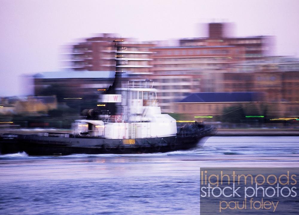 Tugboat, Newcastle Harbour, NSW, Australia