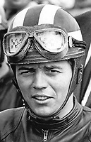 Ralph Bryans, racing motorcyclist, born Belfast 7th March 1940. Died Scotland 6th August 2014. Taken: August 1967. 196708000046<br />
