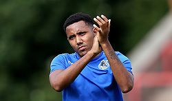 Cristian Montano of Bristol Rovers applauds the fans after the preseason friendly against Exeter City ahead of the Sky Bet League One season - Mandatory by-line: Robbie Stephenson/JMP - 16/07/2016 - FOOTBALL - St James Park - Exeter, England - Exeter City v Bristol Rovers - Pre-season friendly