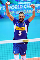 OSMANY JUANTORENA<br /> <br /> Italy vs Slovenia<br /> Volleyball men's world championship <br /> Florence September 18, 2018