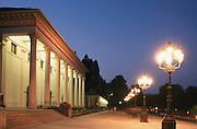 Deutschland, Germany,Baden-Wuerttemberg.Schwarzwald.Baden-Baden, Kurpark, Kurhaus bei Dämmerung.Black Forest, Baden-Baden, Kurhaus at dusk...