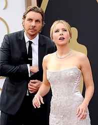 Dax Shepard with Kristen Bell arriving to the 2014 Oscars at the Hollywood and Highland Center in Hollywood, California, USA,  Sunday, 2nd March 2014. Picture by Hollywood Bubbles / i-Images<br /> UK ONLY