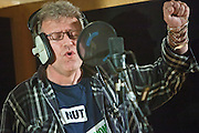 Robb Johnson, Reception teacher and member of the NUT.  The TUC organised a recording session at Metropolis studios of the Canned Heat classic 'Lets work together'. Union members from all over the UK came together to sing. The song will be released the week before the biggest strike action in years on the 30th of November 2011.