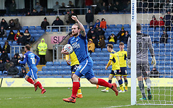 Jack Marriott of Peterborough United celebrates his goal - Mandatory by-line: Joe Dent/JMP - 17/03/2018 - FOOTBALL - Kassam Stadium - Oxford, England - Oxford United v Peterborough United - Sky Bet League One