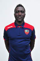 Matar Fall - 24.10.2014 - Portrait Gazelec Ajaccio - Ligue 2 -<br /> Photo : Philippe Le Brech / Icon Sport