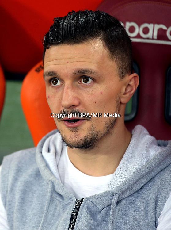 Italian League Serie A -2016-2017 / <br /> ( AS Roma ) - <br /> Mario Rui Silva Duarte &quot; Mario Rui &quot;